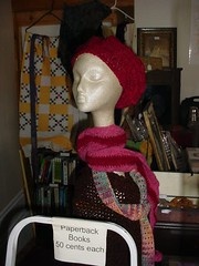 Cranberry Hat and Scarf