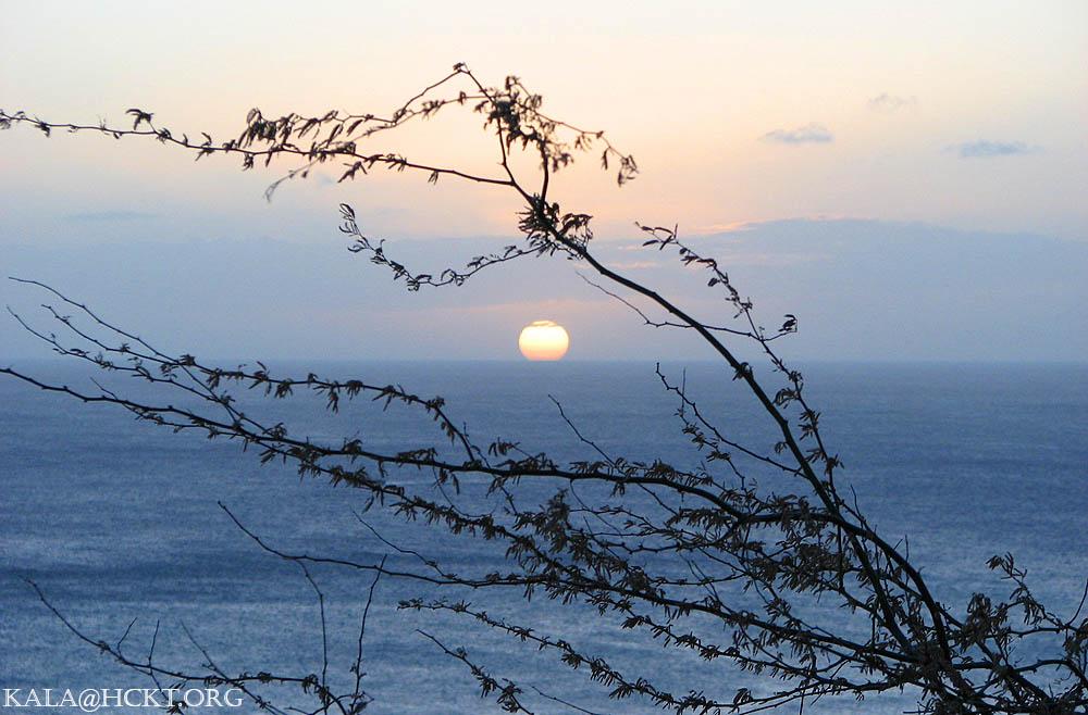 Sunset off Diamond Head