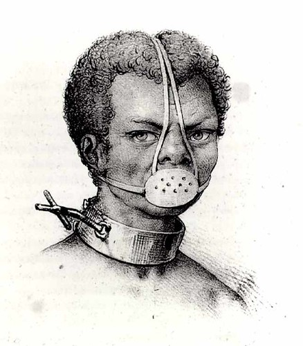 Image of Slave with iron Muzzle