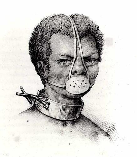 Image of Slave with iron Muzzle