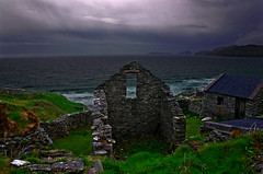 Ominous Weather (Karnevil) Tags: ireland irish clouds europe scenic dingle storms gaelic dinglepeninsula countykerry blueribbonwinner splendiferous flickrsbest abigfave