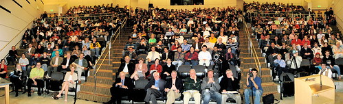 Entrepreneurship Week Kickoff (by jurvetson)