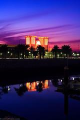 Sharq Fish Market (A.alFoudry) Tags: pink blue sunset sea color reflection canon purple market 5d kuwait 18 50 fhish q8 abdullah sharq   kwt        kuw   xnuzha alfoudry  abigfave    abdullahalfoudry wwwfoudryphotocom  kuwaitvoluntaryworkcenter
