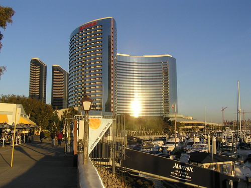 San Diego Marriott hotel and Marina