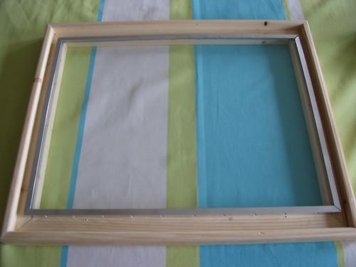 DIY FTIR Multi-touch display - wooden frame