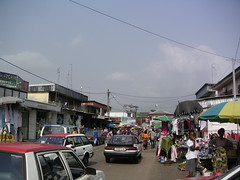 Taxis in Libreville