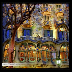 MY BEST PHOTO! - January 2006 - Casa Batll (tom29ger) Tags: barcelona canon 350d lights casa spain nightshot favorites explore views gaudi canon350d nightshots rebelxt popular canonrebelxt soe canonef2470mmf28lusm hdr 2470l comments ef2470mmf28lusm spanien casabatll batllo aclass batll battlo espanya antoniogaudi passeigdegrcia highdynamic easyhdr mywinners impressedbeauty aplusphoto goldenphotographer wowiekazowie diamondclassphotographer fiveflickrfavs tom26ger tom29ger