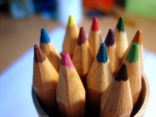 colour pencils by {eclaire}.