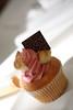 The Infamous Cupcake (David de Groot) Tags: food canon flickr meetup au goma australia brisbane cupcake queensland southbrisbane afternoontea brisbanites brisbaneflickrmeetup utatafeature 400d canonef50mm118ii