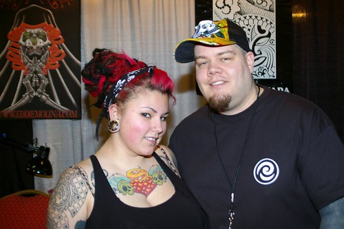Couples Tattoos Taken at 12th Annual