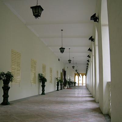 大樓的長廊