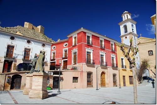 Mula, Plaza del Ayuntamiento