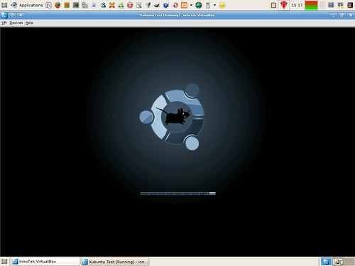 Xubuntu shutdown in VirtualBox
