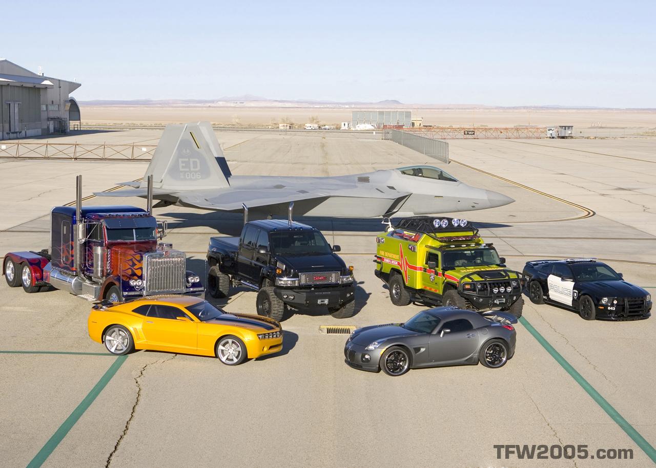 Primeras Fotos Y Videos De Transformers La Pelicula