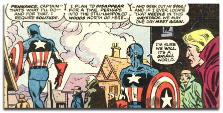 captain america 221 - AMERIDROID is sad!!!!!!