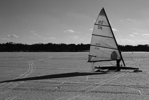 Lake Calhoun BW 0418