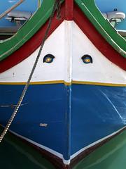 boat face (malona) Tags: 2005 boats boot boat malta boote malte woodenboats traditionalboats malona setboats