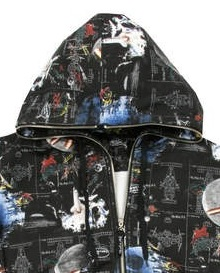 Crooked Ink Space hoodie