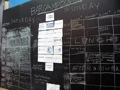 BarCampBoston2 Schedule (Saturday morning)