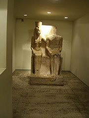 Statue at the Luxor Museum