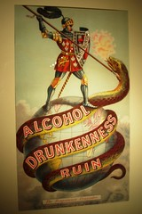 Alcohol. Drunkenness. Ruin.