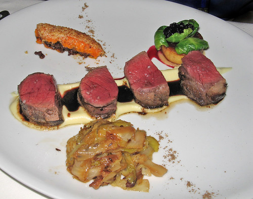 "Pan-Roasted Venison ""Filet Mignon"""