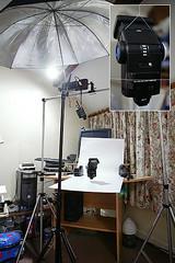 Set-up for 285HV levitation