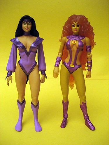 Night Star and Starfire