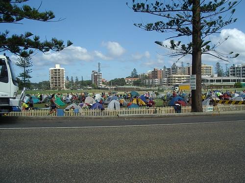 Camp at Port Macquarie