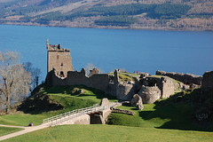 Urquhart Castle, Loch Ness (mag379) Tags: blue sea seascape castle d50 landscape scotland highlands nikon flickr nikond50 loch flickrmeet urquhartcastle lochness scottishhighlands allrightsreserved httpwwwflickrcomphotostagsthebiggestgroup utatafeature scottishmeetups ljomi