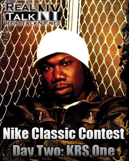 "Nike Classic Contest Day 2: KRS-One aka ""The Teacha"""
