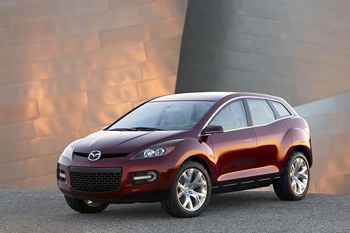Новая Mazda CX-7 (фотографии нового концепта от Мазды)