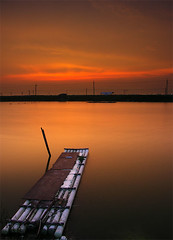 Red sky (stanchiou) Tags: sunset red landscape minolta taiwan tainan  a200   naturesfinest