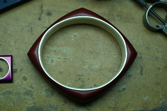 2nd color (jon m ryan) Tags: art silver aluminum workinprogress craft jewelry bracelet sterling process jonryan anodize