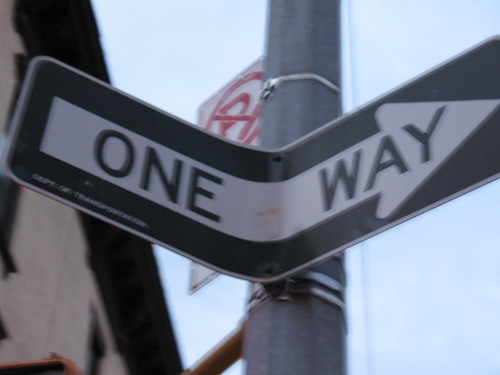 """One Way,"" But Which Way?"