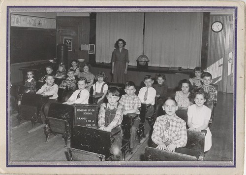 Moquah School, 1951.