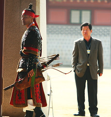 Suwon Martial Arts Performance Suwon South Korea (Derekwin) Tags: color training asian dangerous asia cut attack performance martialarts korea sharp derek korean weapon sword strike blade winchester hwaseong suwon skill hwaseonghaegung derekwin derekwinchester  kimgwangshik