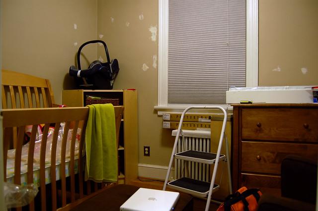 baby nursery carseat crib