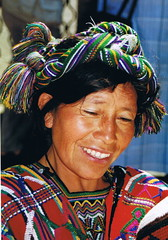 Mayan Woman (Alan1954) Tags: woman colour guatemalan 5photosaday cherchelafemme