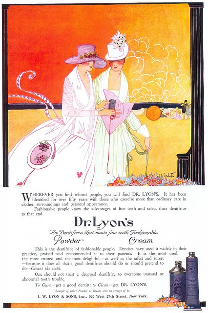 Dr. Lyon's Dentifrice, 1918