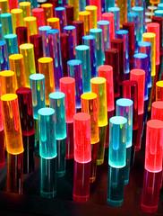 light bars nj childrens museum (Ari Hahn) Tags: colors museum pegs tilt outstandingshot