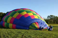 Step 4c - The cold air inflation step continues (Travis' Photography) Tags: awesome balloonride airventures