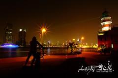 (lovemi88) Tags: china light night asia shanghai fujifilm nikkor pudong    s3pro 14mm