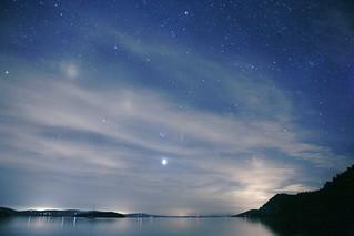 Montague Harbor Night Sky - Galiano Island, British Columbia