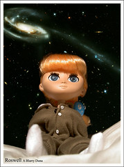 Duna Dreams (blurrydoll) Tags: bear doll space roswell galaxy una duna lain bearsuit hubble moof unaweek