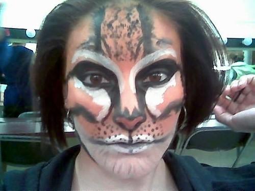 animal stage makeup. Stage Makeup - Animal