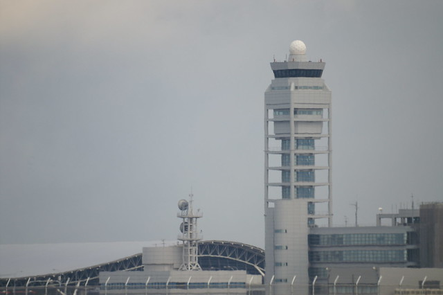 Air Traffic Control Tower @ KIX/RJBB