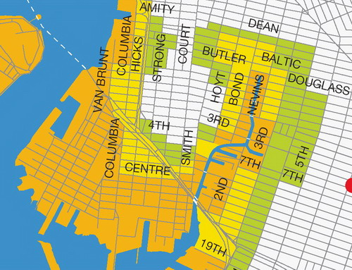 Gowanus Hurricane Flooding Map