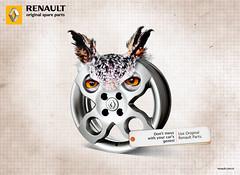 Renault | Original Spare Parts (orgutcayli) Tags: art photoshop turkey advertising design graphicdesign artwork graphic gene trkiye ad ps istanbul renault adobe owl dna rejected reklam artdirector o