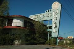 Robert E. Lee Motel (pjchmiel) Tags: abandoned virginia motel artdeco neonsign thesouth dereliction monumentalsign greattypography greatshape